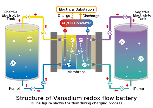 system of vanadium redox flow battery vrfb le system. Black Bedroom Furniture Sets. Home Design Ideas